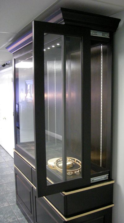 Custom display cabinets for the home and office - Custom display cabinets ...